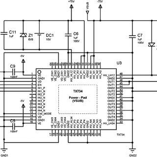 Block diagram of the ultrasonic thickness measurement
