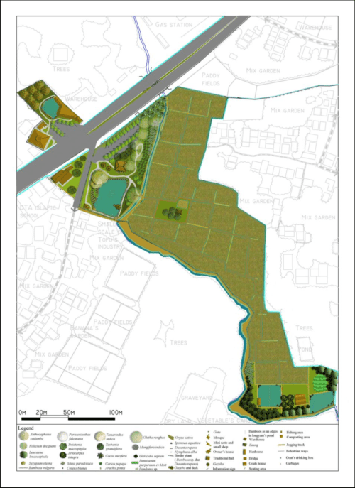 small resolution of site plan of integrated farming franjaya 2013