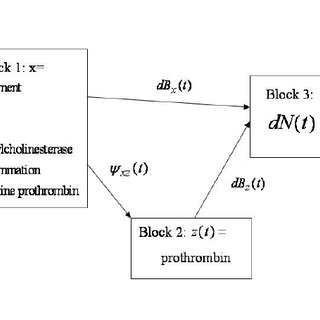 Block representation of path diagram of Figure 2