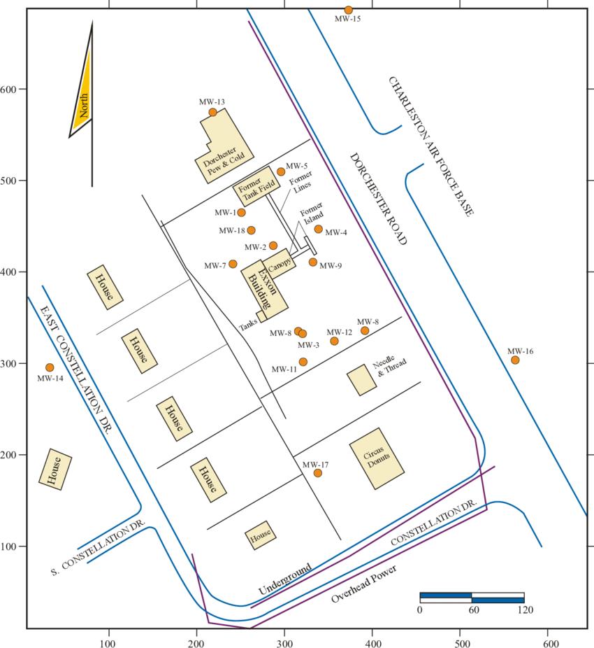 hight resolution of site basemap