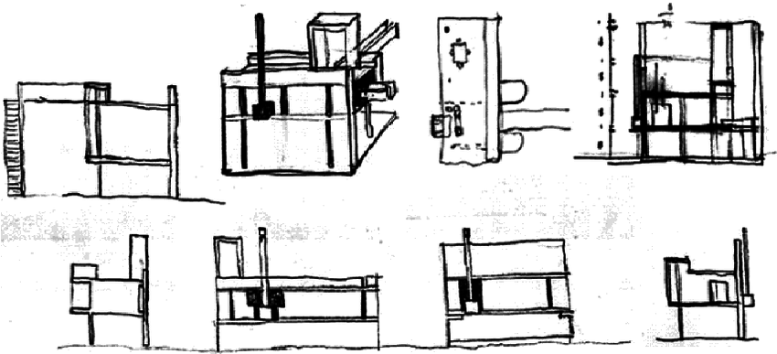 Examples of a design drawing for the Pavilion House