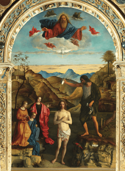 small resolution of giovanni bellini baptism of christ 1500 1502 oil on wood