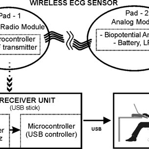 (PDF) A wearable wireless ECG sensor: A design with a