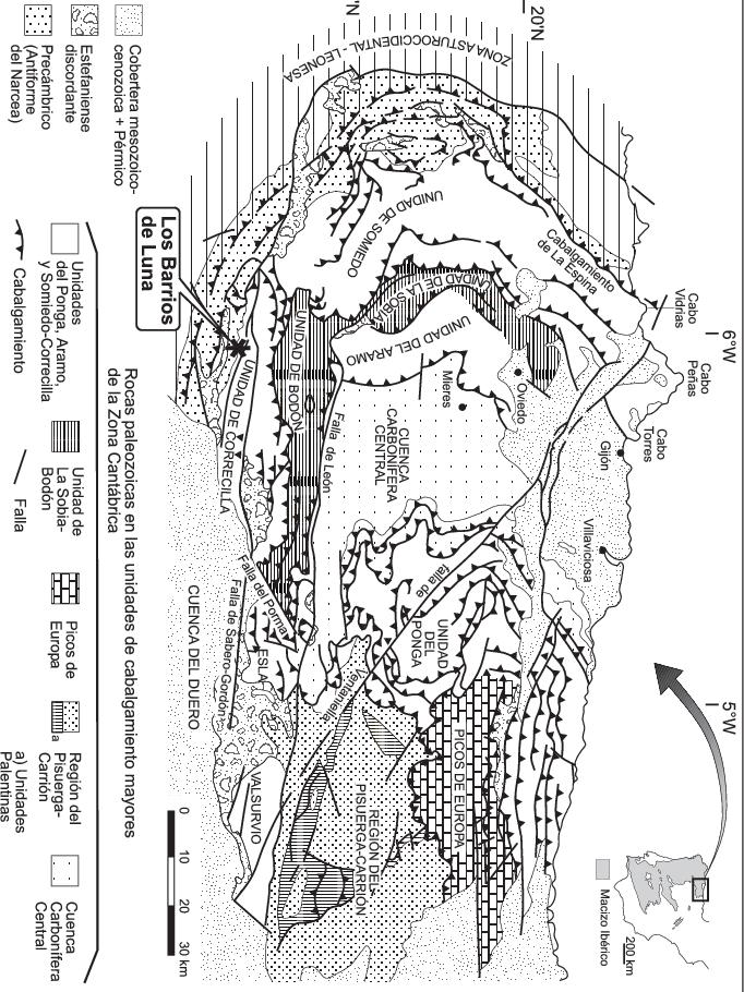 Excursion B: Paleontología y Estratigrafía del Paleozoico