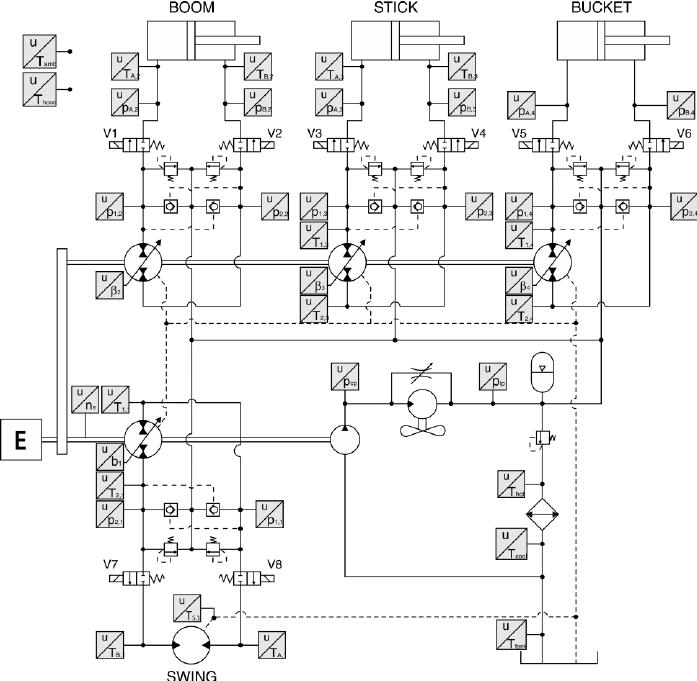 hydraulic power dc motor wiring