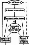 Clark's (2001) cognitive model of social anxiety disorder