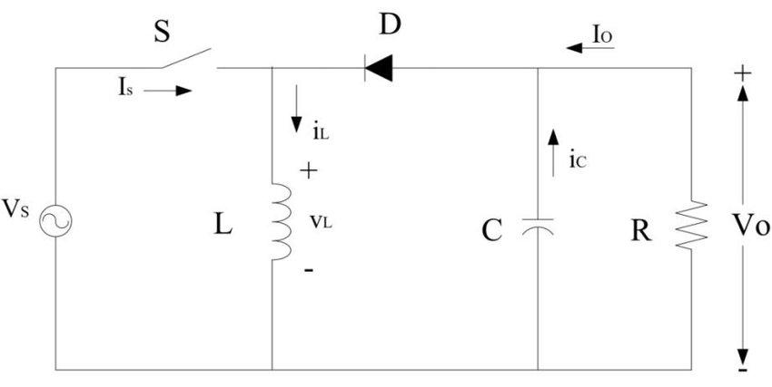 circuit diagram of buck boost converter labeled dna molecule download scientific
