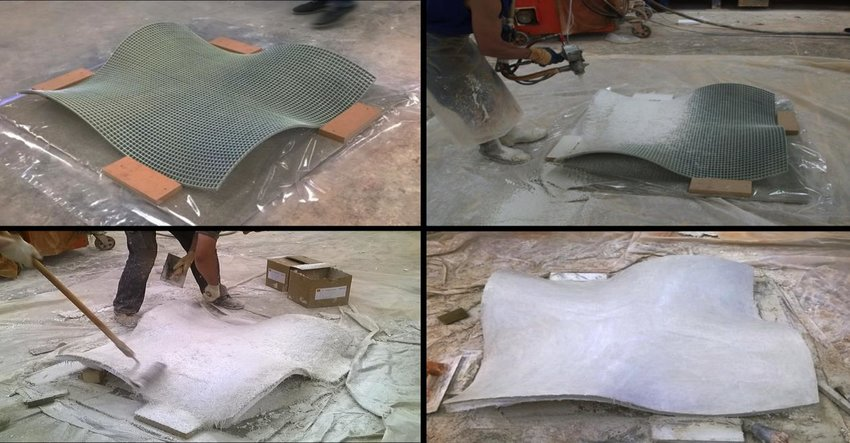 steel chair manufacturing process wheel dealers in coimbatore of a grc panel fixed mesh b sprayed