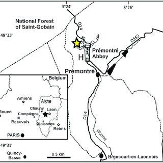 Generalised palaeogeography and lithofacies distribution
