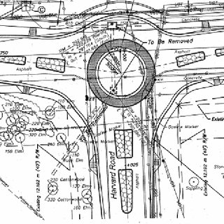 Geometric Elements of a Modern Roundabout (Source: FHWA