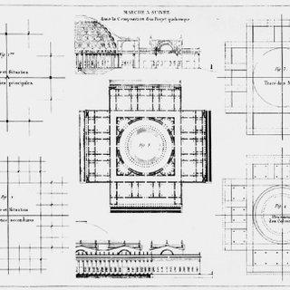 J.N.L. Durand, Plate 21 of Précis des leçons d