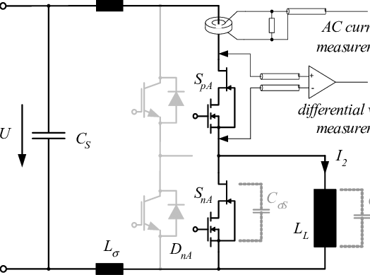 Test setup for switching loss measurement; for the SiC-JFET/SiMOSFET...   Download Scientific Diagram
