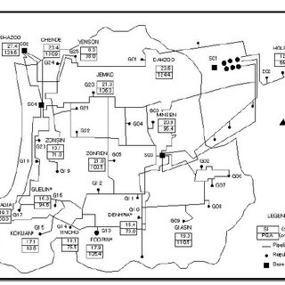 Emergency shutoff systems of natural gas network of Tokyo