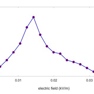 Induced electric field distribution evaluated with the