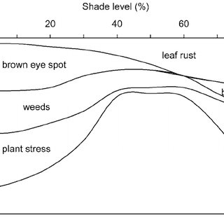 Effects of open sun and shade on coffee rust and brown eye