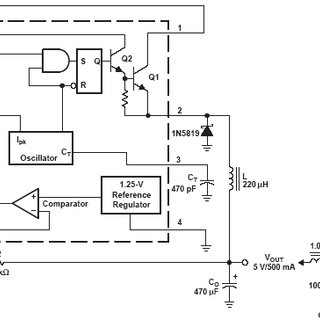 Internal circuit of MC34063 Fig 3 shows the designed