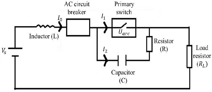 Diagram of the proposed DC circuit breaker Proper