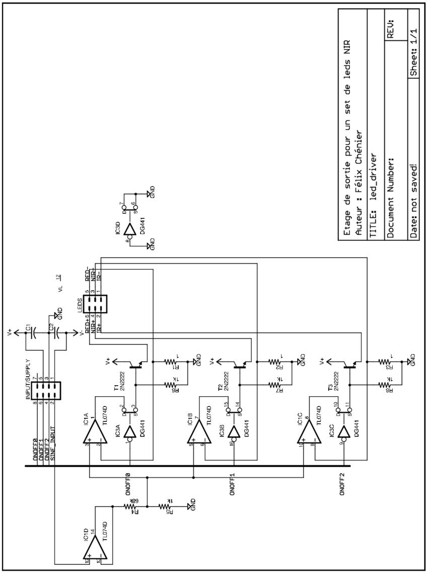 Schema Electrique Led