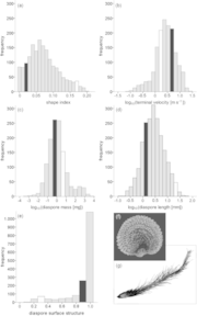 D³: The Dispersal and Diaspore Database
