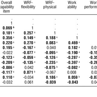 (PDF) The capability set for work: Development and