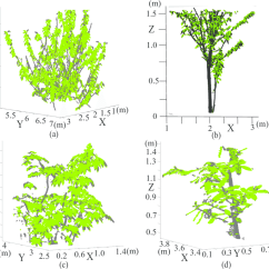 Diagram The Parts Of Cherry Blossom Tree Chevy Silverado Scatter Plots Point Cloud Data Using Our Proposed Method To Download Scientific