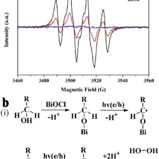 (a) High-resolution XPS spectra of the element O in BiOCl