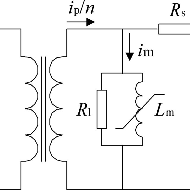 (PDF) Estimation of primary current in saturated current