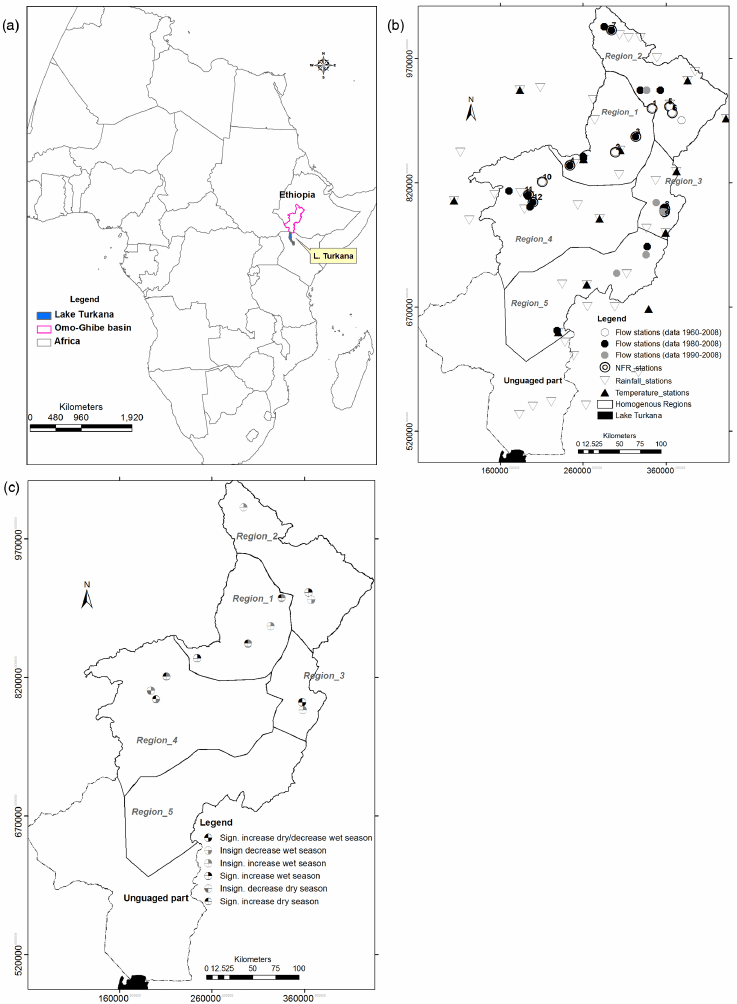 (a) Africa and Ethiopia map (Infoplease, 2012), (b