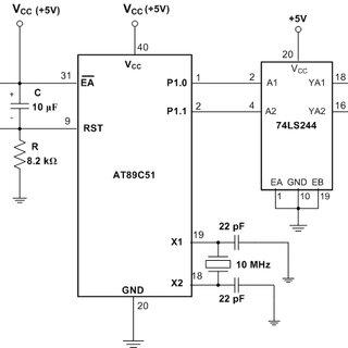 microcontroller based inverter circuit diagram dodge ram 1500 wiring radio schematic of the oscillator