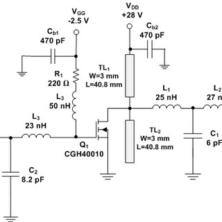 Schematic Diagram of the Conventional Class F RF Power