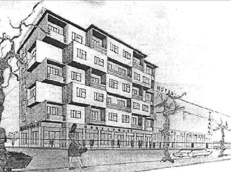 perspective drawing of the