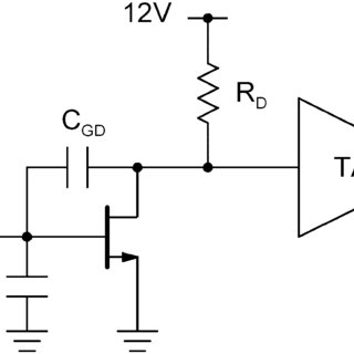 Simplified schematic diagram of the realized