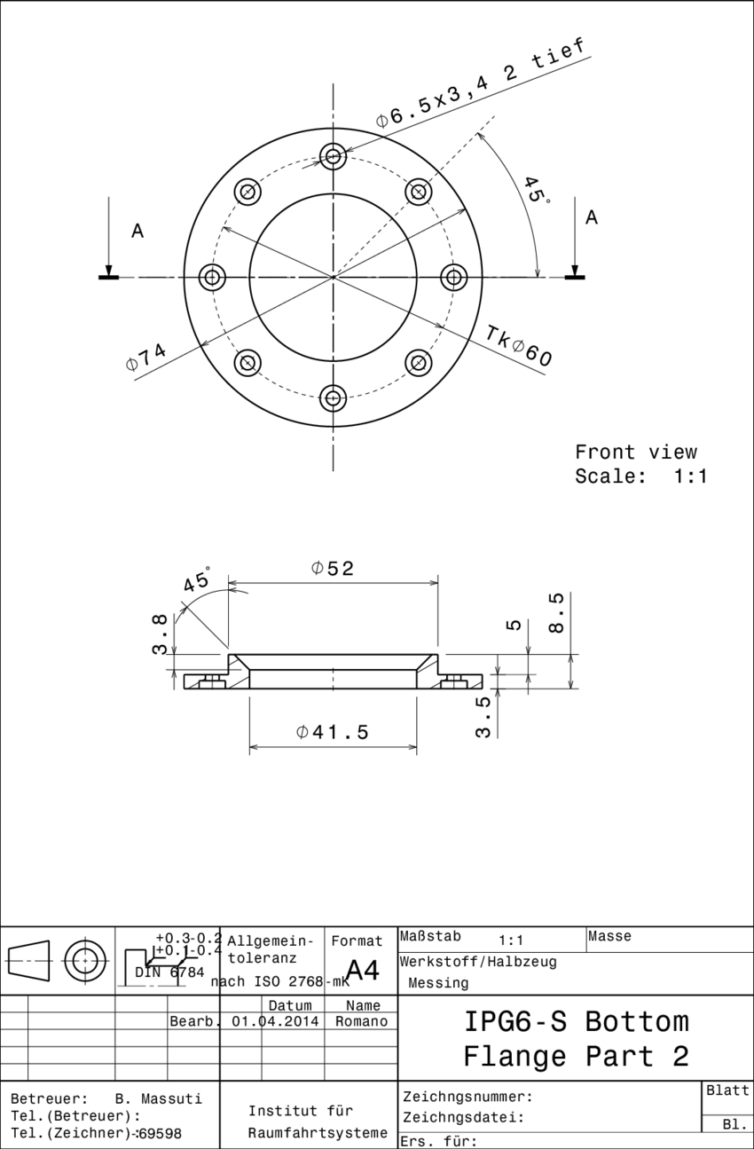 hight resolution of 7 closure of the water cooled bottom flange
