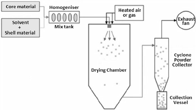 Schematic illustration of the process of micro
