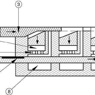 Diagram of a LPE boat with vertical pushers and limited