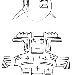 Examples of tzuk sign/entity in Late Preclassic contexts