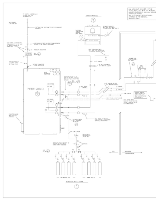 small resolution of final installation drawings mechanical piping and instrumentation diagram