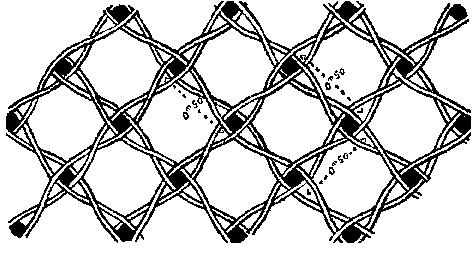 Lattice-pattern Wattle structure (Barlatier de Mas 1899