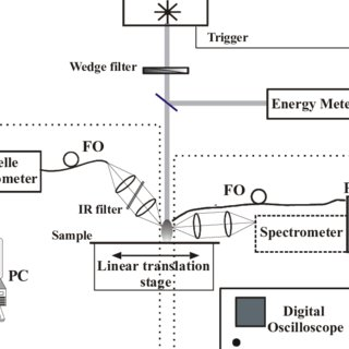 Emission intensity time dependence of the λ = 495.9 nm Fe