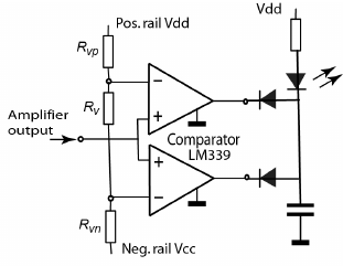 Circuit diagram of the phase-shifter. 2) Zero level