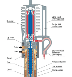 schematic of framo engineering s multiphase pumping module framo engineering used with permission [ 842 x 1091 Pixel ]