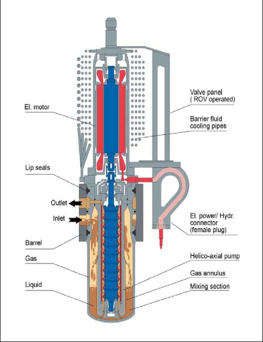 hight resolution of schematic of framo engineering s multiphase pumping module framo engineering used with permission