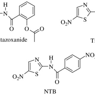 (PDF) Nitazoxanide, tizoxanide and a new analogue [4-nitro