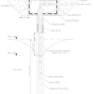 6. Scheme de pompare a apei din puţuri cu pompe