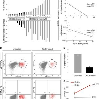 (PDF) CD49d is overexpressed by trisomy 12 chronic