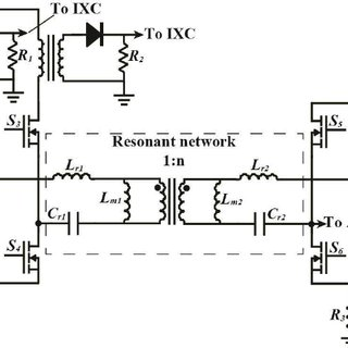Bidirectional CLLC DC-DC converter for battery charging