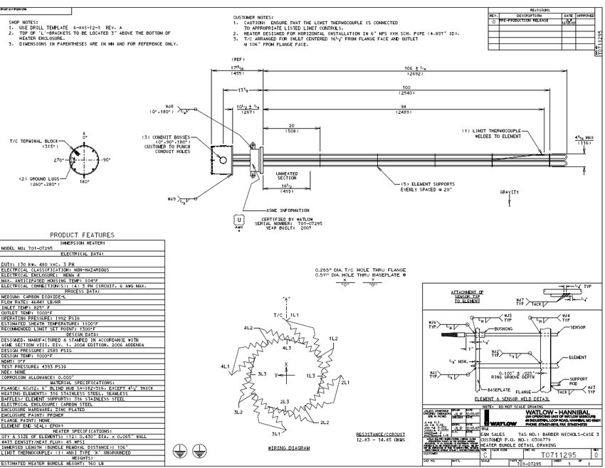 Wiring Database 2020: 28 Watlow Heater Wiring Diagram