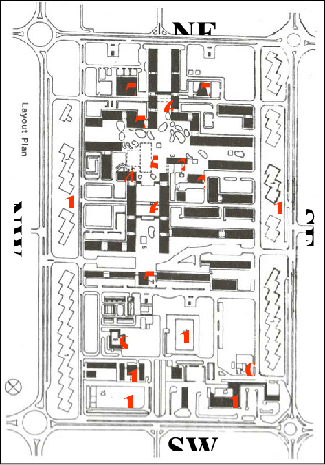 Land use pattern of Sector 17 ( NTS) 1. High rise
