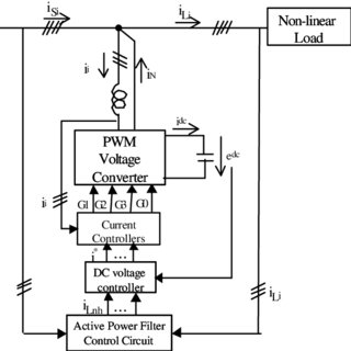 Active power filter general control circuit based on the