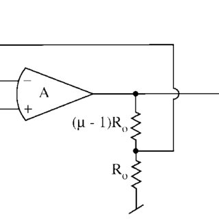 Second-order low-pass filter with ideal opamp and voltage